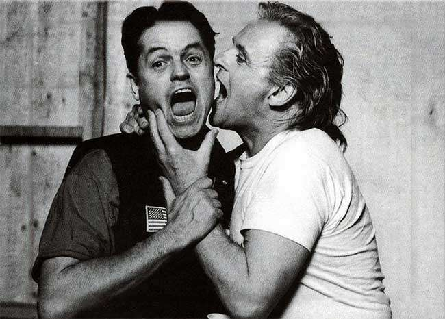 Jonathan Demme and David Byrne