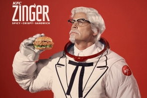Rob Lowe as Colonel Sanders