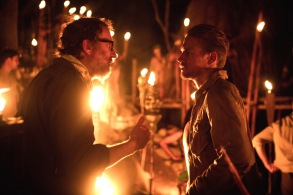 """James Gray & Charlie Hunnam on the set of """"The Lost City of Z"""""""