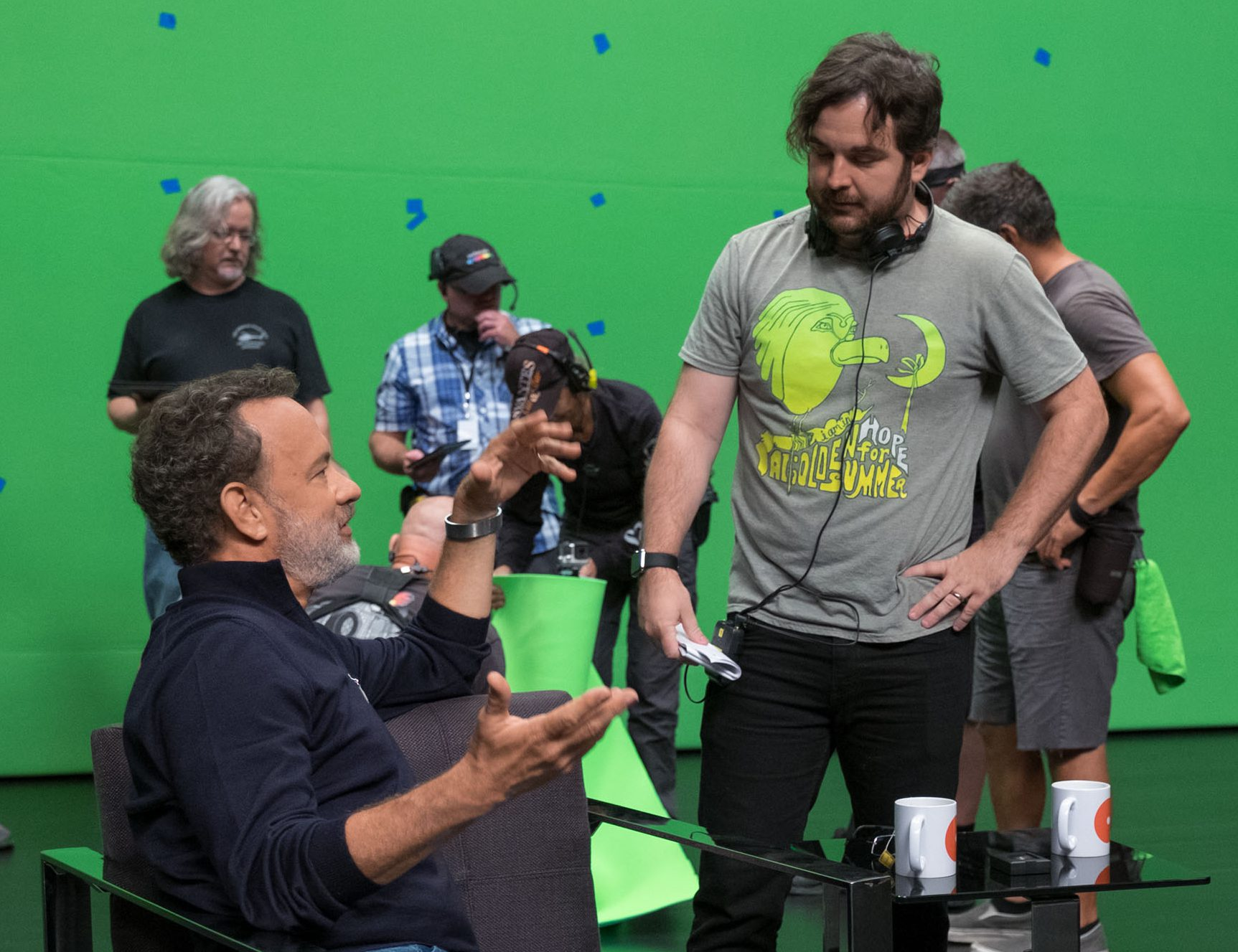 "James Ponsoldt directs Tom Hanks in ""The Circle"""