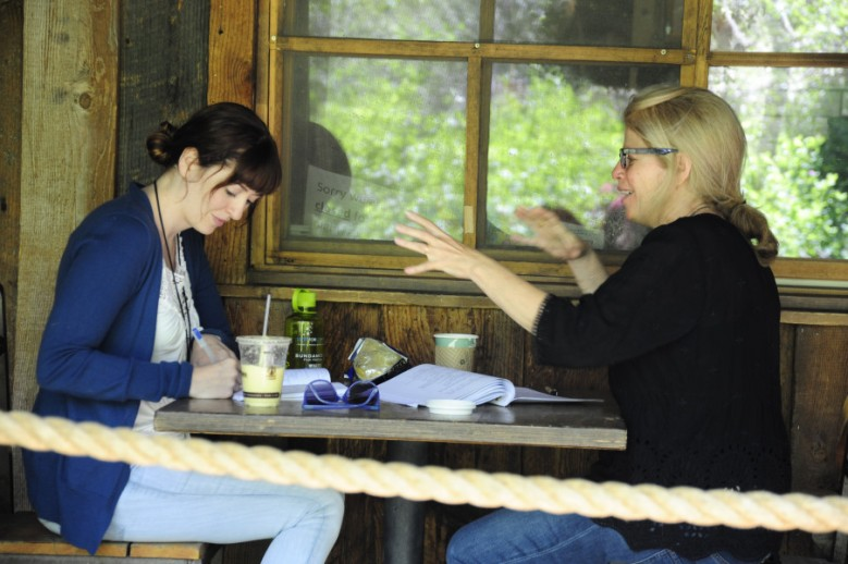 Marielle Heller with Sundance Advisor Jessie Nelson