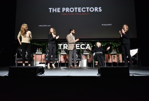 Hillary Clinton at the Tribeca Film Festival