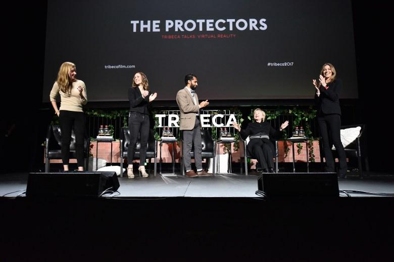 Hillary Clinton at the Tribeca Film Festival