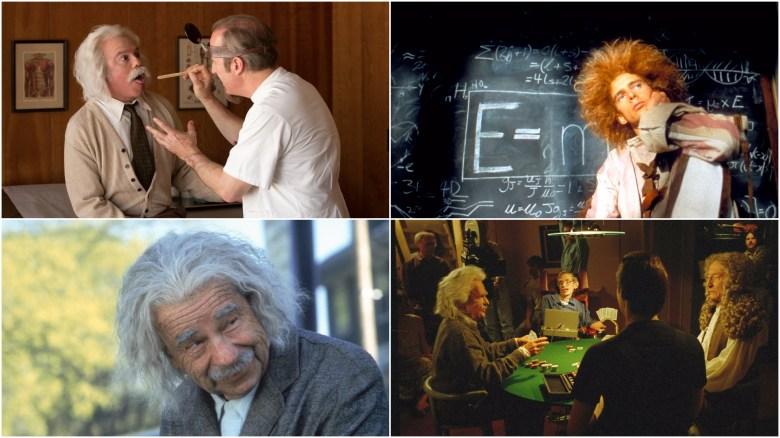 Einstein in Comedy