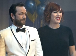 """Luke Perry and Molly Ringwald, """"Riverdale"""""""