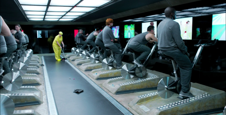 """Black Mirror"" episode ""Fifty Million Merits"""