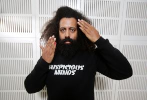 Editorial Use Only. Consent Required for Commercial Use and Book PublicationsMandatory Credit: Photo by Carly Earl/Newspix/REX/Shutterstock (5287808g)Reggie WattsReggie Watts photo shoot, Sydney, Australia - 20 Oct 2015