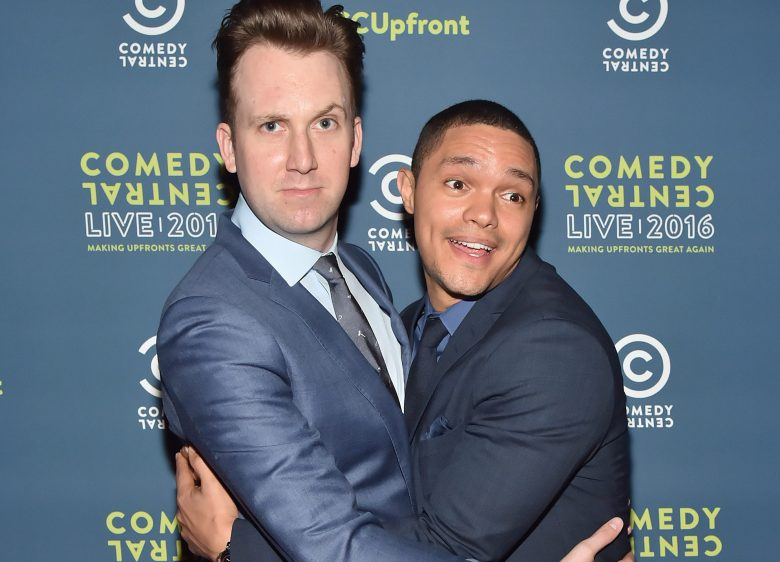 Jordan Klepper and Trevor NoahComedy Central Live 2016 Upfront, New York, America - 31 Mar 2016