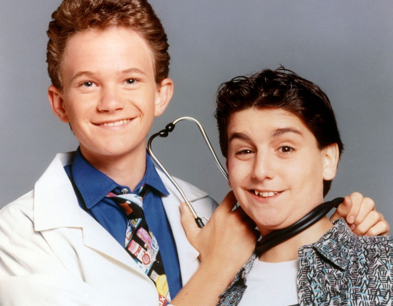"Neil Patrick Harris and Max Casella, ""Doogie Howswer, M.D."""