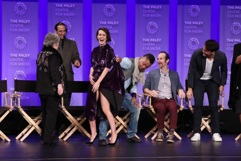 Kathy Bates, Sarah Paulson, Cuba Gooding Jr., Denis O'Hare and Cheyenne Jackson'American Horror Story: Roanoke' presentation, Panel, Paleyfest, Los Angeles, USA - 26 Mar 2017