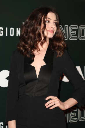 Anne Hathaway'Colossal' film premiere, Arrivals, Los Angeles, USA - 04 Apr 2017