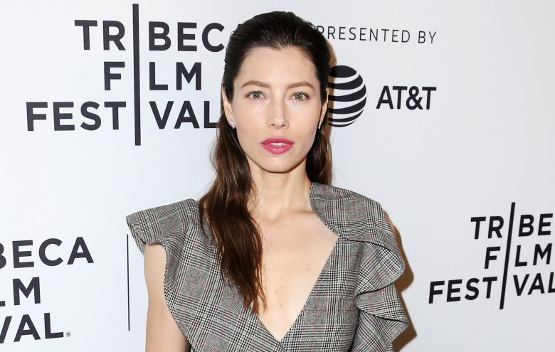Jessica Biel'The Sinner' screening, Arrivals, Tribeca Film Festival, New York, USA - 25 Apr 2017