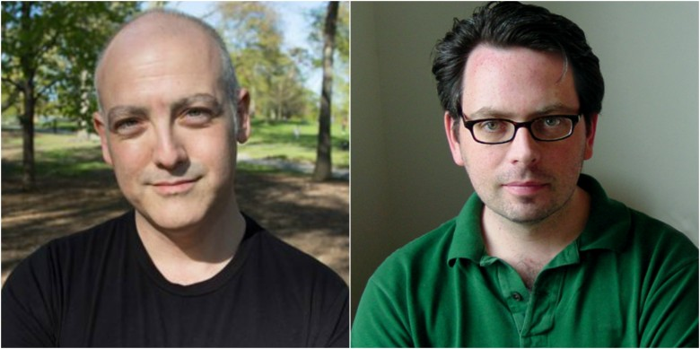 Critic Matt Zoller Seitz (left) and IFC Center's GM John Vanco (right)