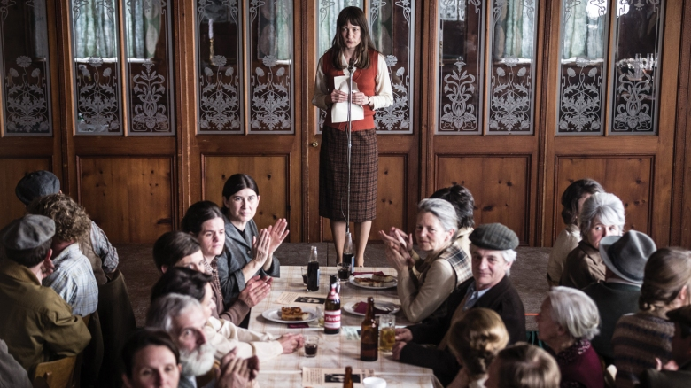 Marie Leuenberger as Nora in THE DIVINE ORDER. Photographer: Daniel Ammann.