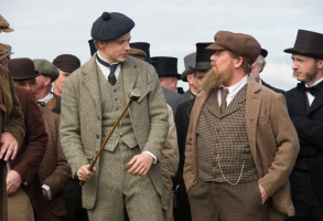 "Jack Lowden and Peter Mullan in ""Tommy's Honour."""