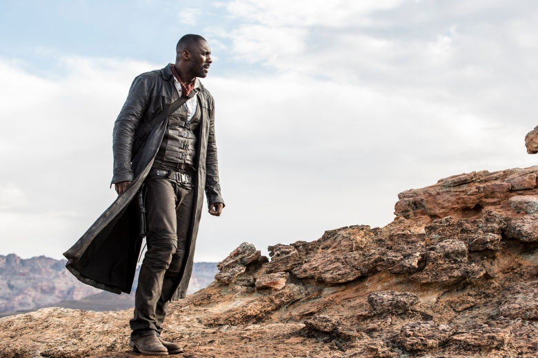 Roland Deschain (Idris Elba) in Columbia Pictures' THE DARK TOWER.