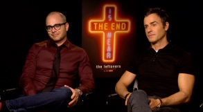 "Damon Lindelof and Justin Theroux - Interview ""The Leftovers"" Season 3"