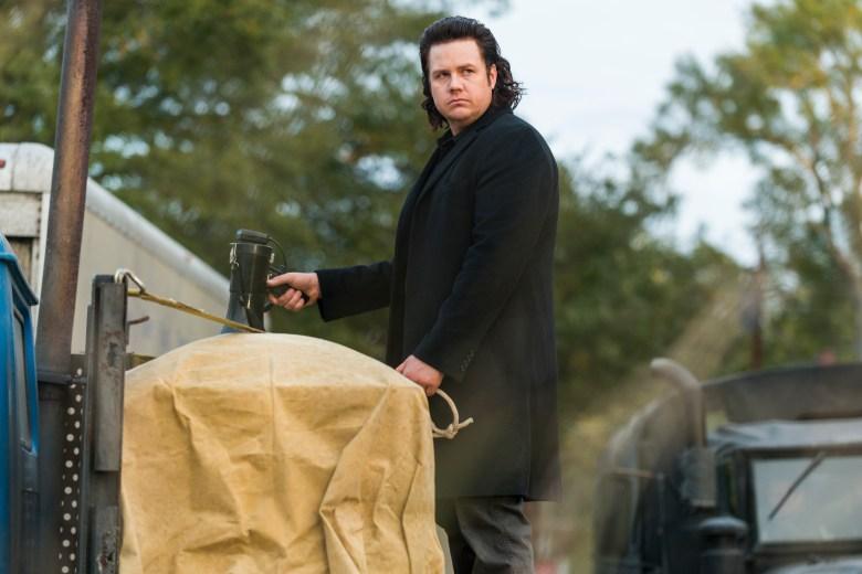 Josh McDermitt as Dr. Eugene Porter- The Walking Dead _ Season 7, Episode 16 - Photo Credit: Gene Page/AMC