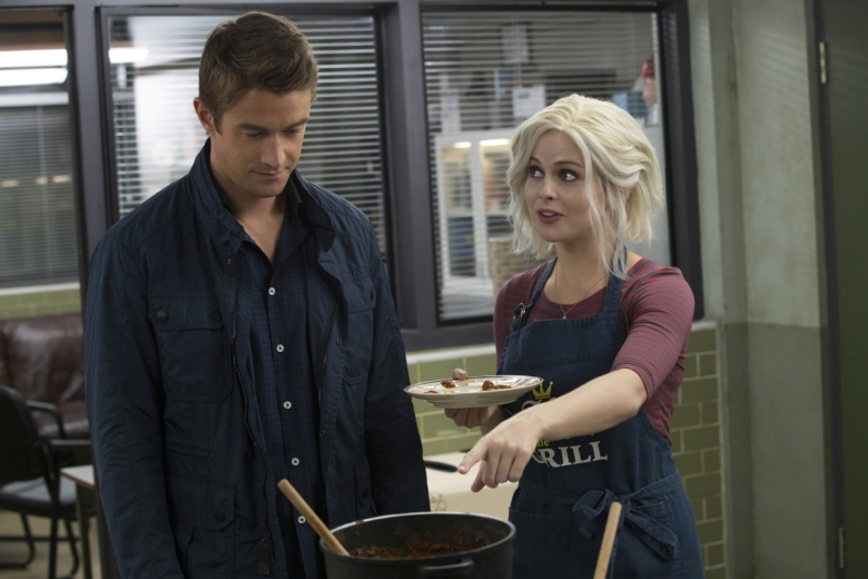 "Robert Buckley and Rose McIver, ""iZombie"""
