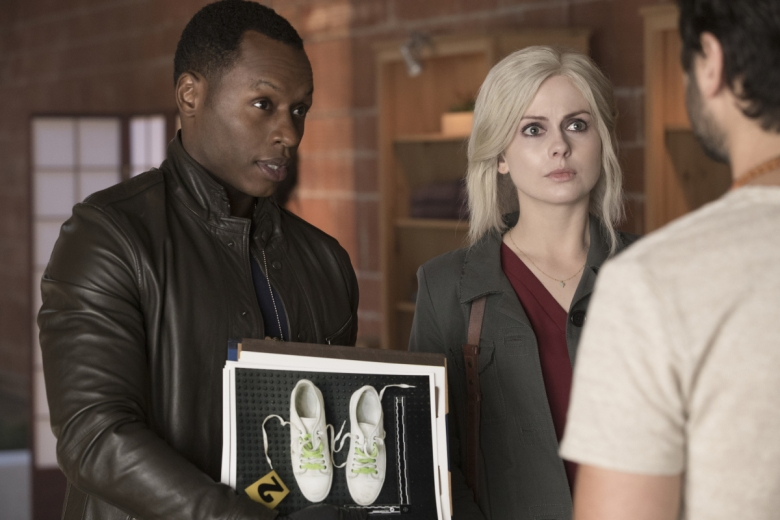 "Malcolm Goodwin and Rose McIver, ""iZombie"""