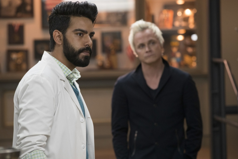 "Rahul Kohli and David Anders, ""iZombie"""