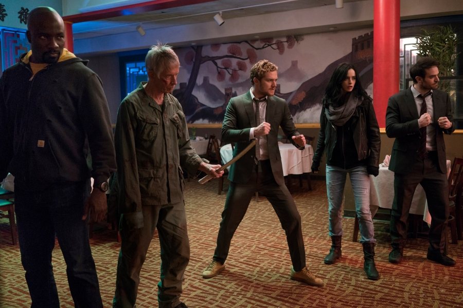 The Defenders Suit Up For Action (Well, Sorta)