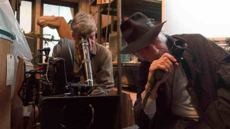 "Camera Operator Craig Haagensen and DP Ed Lachman on the set of ""Wonderstruck"""