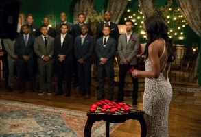 """BACHELORETTE 13 - ÒEpisode 1301Ó - Accomplished Texas attorney Rachel Lindsay takes a recess from the courtroom to start her search for happily ever after in the 13th edition of ABC's hit series, """"The Bachelorette,"""" premiering at a special time, MONDAY, MAY 22 (9:01-11:00 p.m. EDT), on The ABC Television Network. (ABC/Paul Hebert)MICHAEL, BRADY, IGGY, KYLE, MILTON, JACK, BRYCE, KENNETH, DEMARIO, LEE, GRANT, BRYAN"""