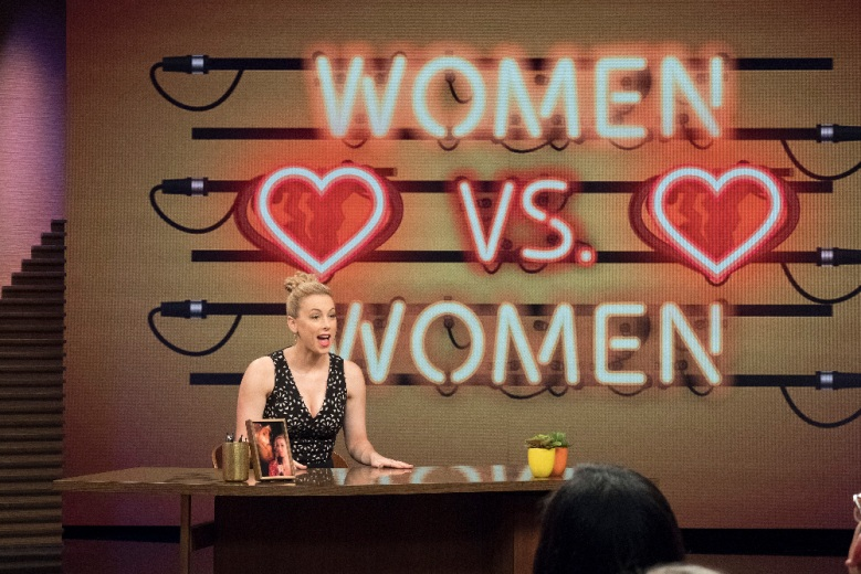 TRUTH & ILIZA - ÒWomen vs. WomenÓ - Comedian Iliza brings her incisive perspective to a new weekly late-night talk show, ÒTruth & Iliza.Ó Airing Tuesdays at 10pm EDT/PDT, each episode is centered around a themed question which Iliza will seek to answer using audience interaction, field pieces, commentary and, of course, jokes. For May 16, Iliza investigates female competition, introduces a female vulnerability kit and asks whether youÕre being a bad feminist. Lead guest is Ariel Winter (ÒModern FamilyÓ) and this weekÕs ÒTheme QueenÓ is Valentina (ÒRuPaulÕs Drag RaceÓ). (Freeform/Nicole Wilder)ILIZA SHLESINGER