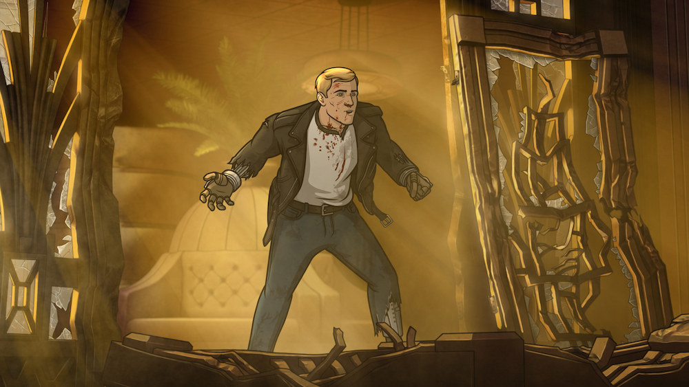 "ARCHER -- ""Auflösung"" -- Season 8, Episode 8 (Airs May 24, 10:00 pm e/p) Pictured: Dutch Dylan (voice of Dave Willis). CR: FXX"