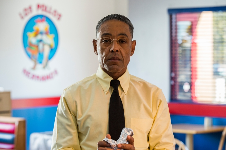"Giancarlo Esposito as Gustavo ""Gus"" Fring - Better Call Saul _ Season 3, Episode 4 - Photo Credit: Michele K. Short/AMC/Sony Pictures Television"
