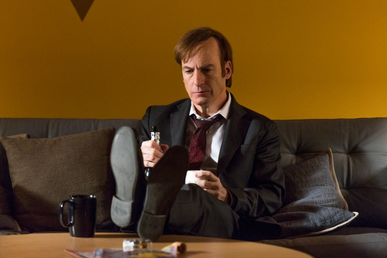 Bob Odenkirk as Jimmy McGill - Better Call Saul _ Season 3, Episode 6 - Photo Credit: Michele K. Short/AMC/Sony Pictures Television