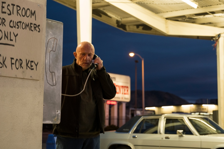 Jonathan Banks as Mike Ehrmantraut- Better Call Saul _ Season 3, Episode 8 - Photo Credit: Michele K. Short/AMC/Sony Pictures Television