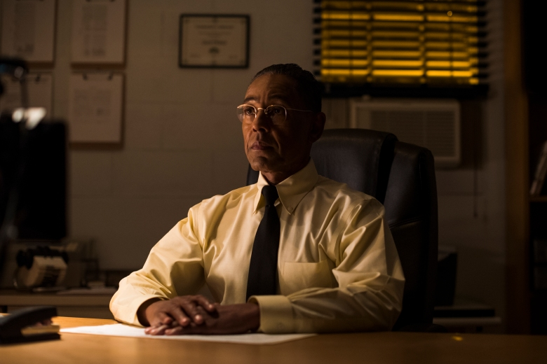 "Giancarlo Esposito as Gustavo ""Gus"" Fring - Better Call Saul _ Season 3, Episode 8 - Photo Credit: Michele K. Short/AMC/Sony Pictures Television"