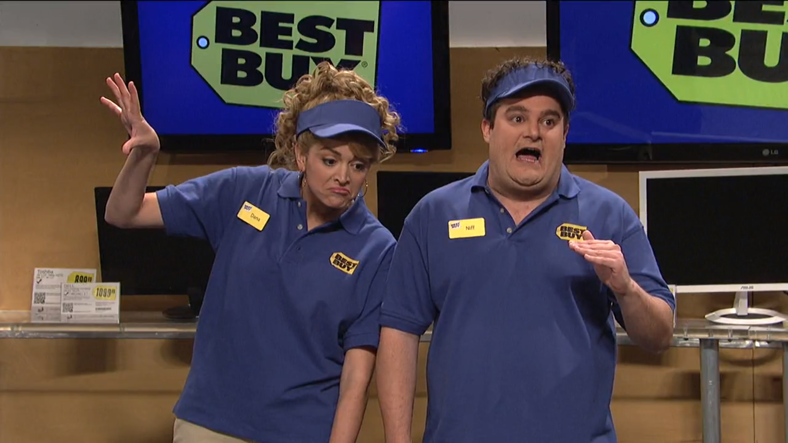 bobby moynihan's best 'snl' sketch is 'best buy firing' | indiewire