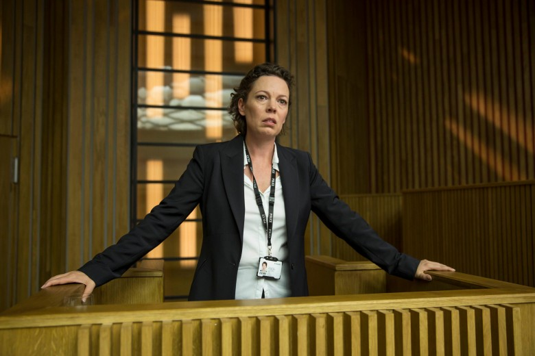 "Olivia Colman, ""Broadchurch"""