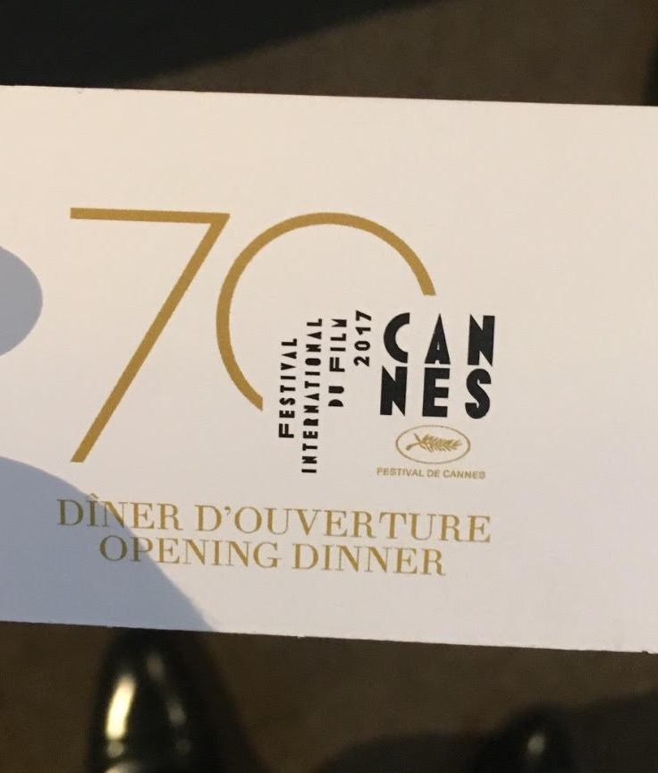 cannes opening dinner