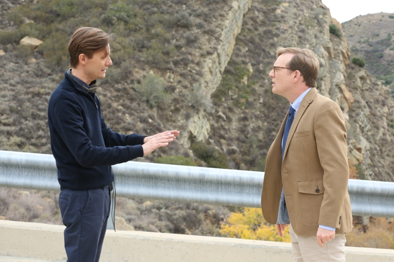 Review James Urbaniak as Grant and Andy Daly as Forrest MacNeil