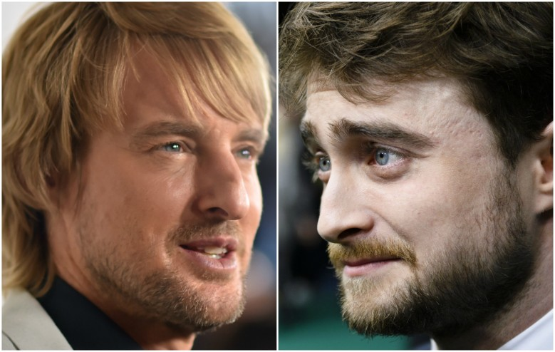 Daniel Radcliffe Is An Angel and Owen Wilson Plays God In
