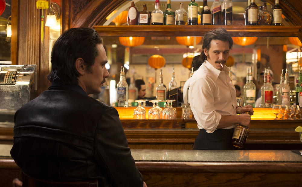 """The Deuce Pilot HBO Productions 2015 1114 Avenue of the Americas New York City 10036 Characters: James Franco- Vincent Gary Carr- C.C. Margarita Leveiva- Abby Amber Skye Noyes- Ellen Don Harvey- Flanagan"