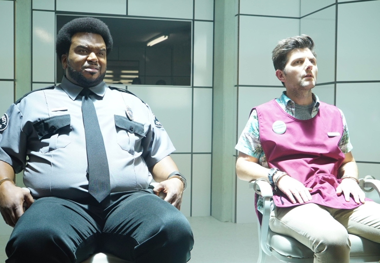 GHOSTED: L-R: Craig Robinson and Adam Scott in GHOSTED premiering this fall on FOX.©2017 Fox Broadcasting Co. Cr: Kevin Estrada/Fox