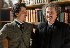 "Johnny Flynn and Geoffrey Rush, ""Genius"""