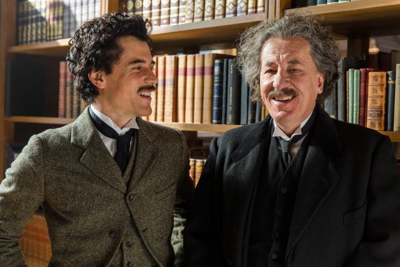 """Johnny Flynn and Geoffrey Rush, """"Genius"""""""