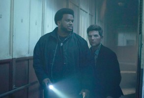 "Craig Robinson and Adam Scott, ""Ghosted"""