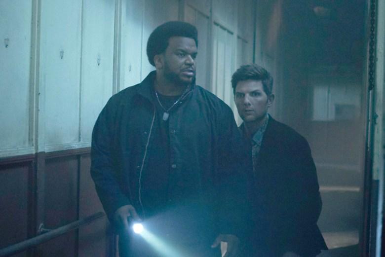 "Craig Robinson and Adam Scott, ""Ghosted"""