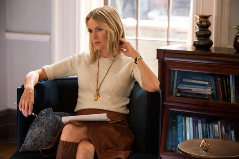 Gypsy Trailer: Naomi Watts is a Shady Therapist in New Netflix
