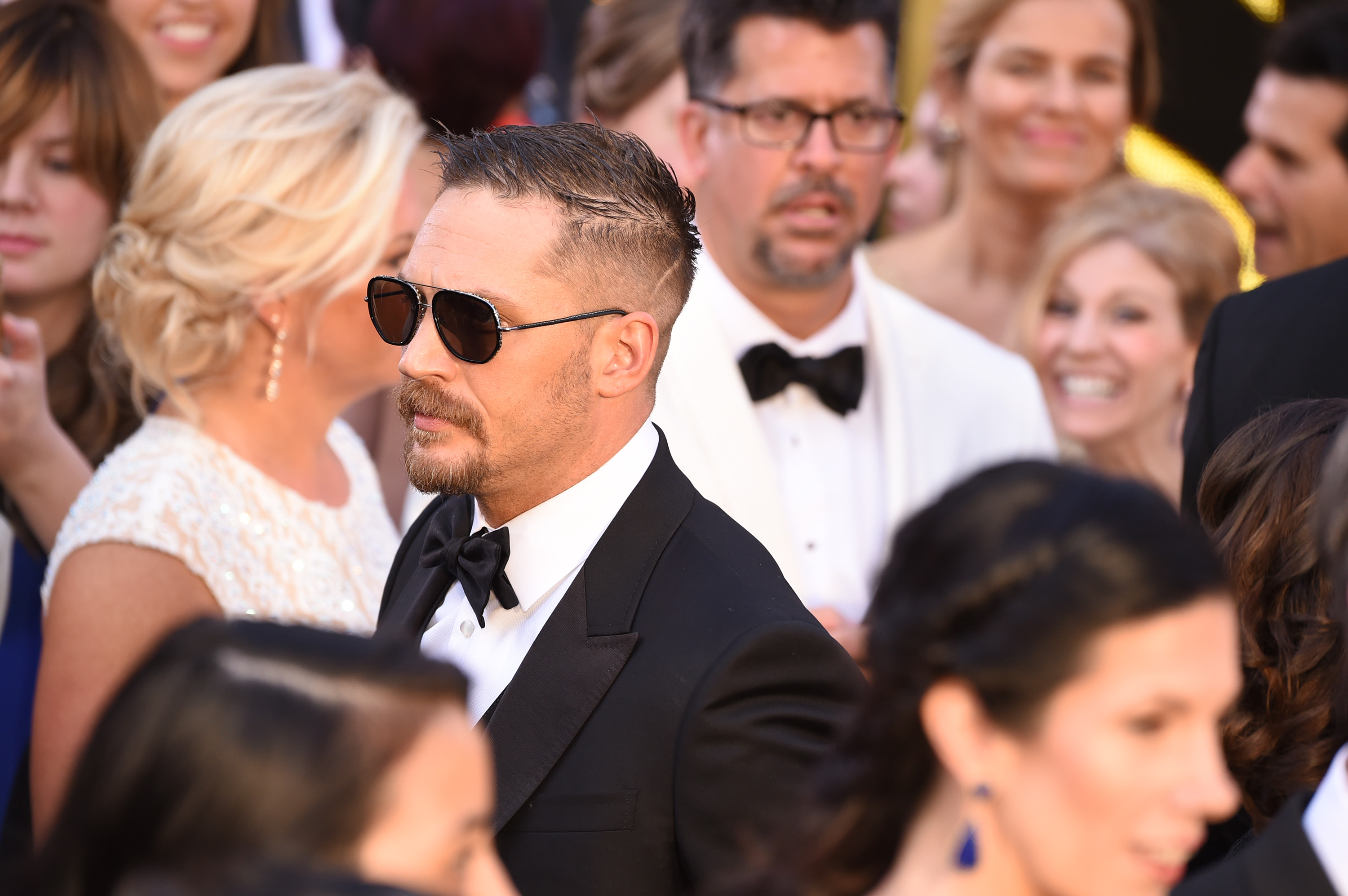 Tom Hardy88th Annual Academy Awards, Arrivals, Los Angeles, America - 28 Feb 2016
