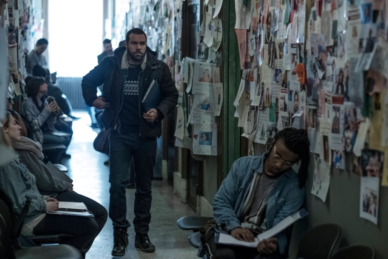 "The Handmaid's Tale -- ""The Other Side"" Episode 107 -- Remembering her familyÕs treacherous escape attempt, a shocking revelation from life before Gilead provides a new perspective on OffredÕs life. Luke (O-T Fagbenle), shown. (Photo by: George Kraychyk/Hulu)"