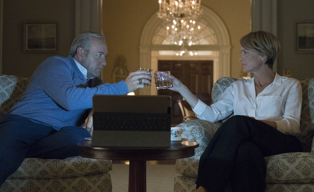 House of Cards Season 5 Episode 3 Kevin Spacey Robin Wright