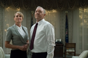 House Of Cards Season 5 Episode 1 Robin Wright Kevin Spacey